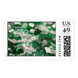 Uvarovite Postage Stamp