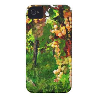 Uvas colgantes en las vides Case-Mate iPhone 4 carcasa