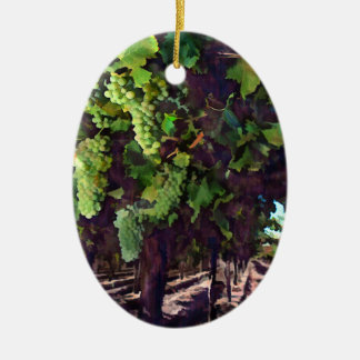 Uvas de conexión en cascada ornaments para arbol de navidad