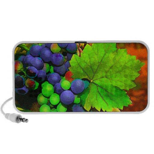 Uvas de la cosecha mp3 altavoz