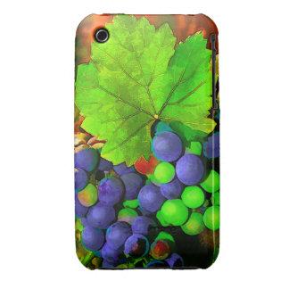 Uvas de la cosecha funda para iPhone 3 de Case-Mate