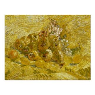 Uvas de las peras de los limones de los membrillos