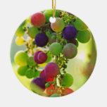 Uvas de muchos colores ornamentos para reyes magos