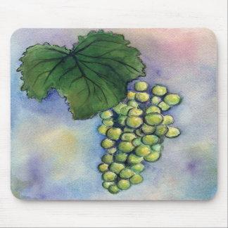 Uvas de vino de Chardonnay Mousepad