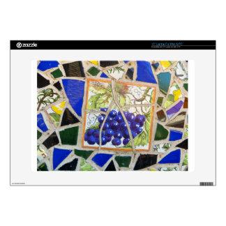 Uvas del mosaico portátil 38,1cm skins