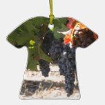 Uvas del país vinícola ornamentos de reyes
