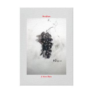 Uvas/Grapes Impresion En Lona