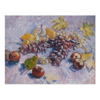 Uvas, limones, peras, manzanas - Vincent van Gogh Tarjetas Postales