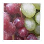 Uvas mezcladas azulejos