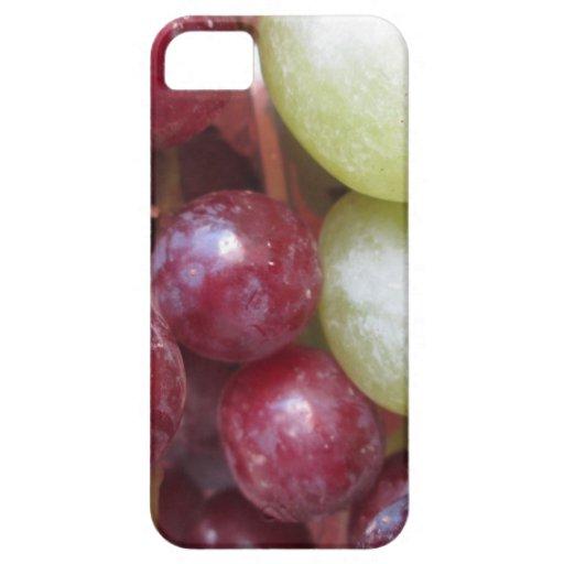 Uvas mezcladas iPhone 5 carcasas