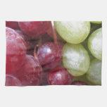 Uvas mezcladas toalla