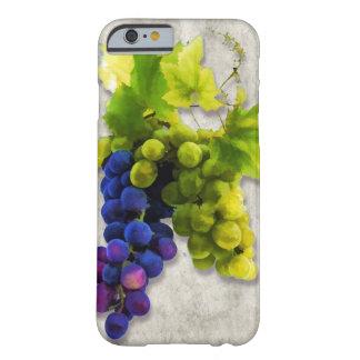 Uvas púrpuras y verdes funda de iPhone 6 barely there