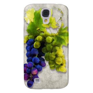 Uvas púrpuras y verdes funda para galaxy s4