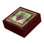 Uvas rojas caja de regalo