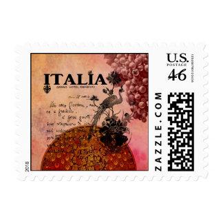 Uvas rosadas Italia