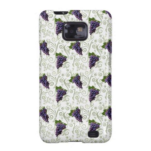 Uvas Samsung Galaxy S2 Carcasa