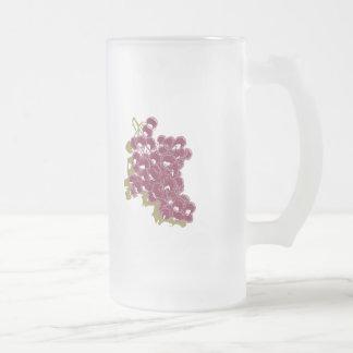 Uvas Taza De Cristal