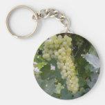 Uvas verdes llaveros