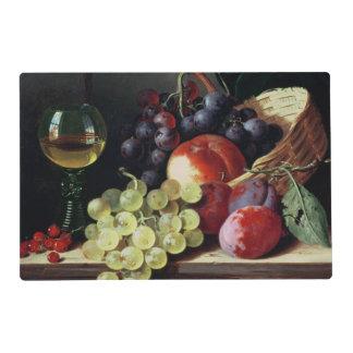 Uvas y ciruelos salvamanteles