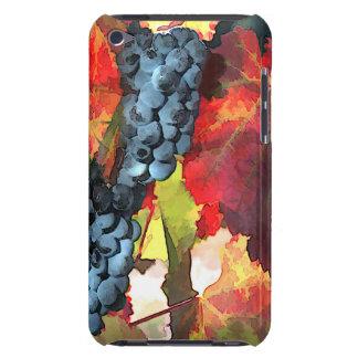 Uvas y hojas del tiempo de cosecha iPod touch protector