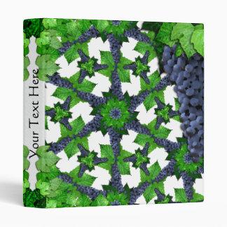 Uvas y hojas LG cualquier carpeta del color