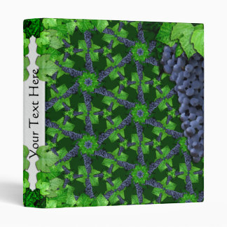 Uvas y hojas SM cualquier carpeta del color
