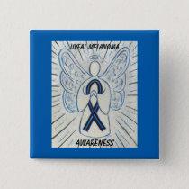 Uveal Melanoma Awareness Ribbon Angel Pins