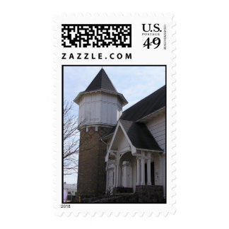 UW Dairy Barn Postage Stamp