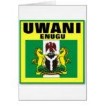 Uwani Nigeria , T-shirt And etc Greeting Card