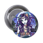 Uxia Gothic Mermaid Pinback Buttons