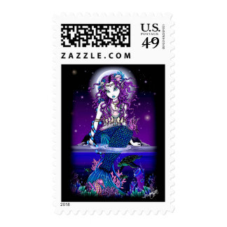 Uxia Gothic Mermaid Postage
