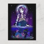 Uxia Postcard Gothic Mermaid Fantasy
