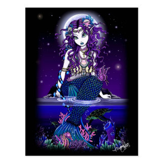 Uxia Postcard Gothic Mermaid Fantasy