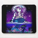 Uxia Twilight Moon Mermaid Mousepad