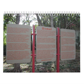 Uxmal Calendario De Pared