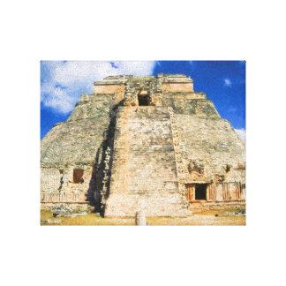 Uxmal Mayan Ruins Canvas Print