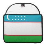 Uzbek Flag Sleeves For MacBooks