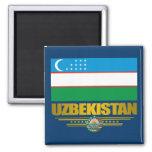"""""""Uzbek Pride"""" Fridge Magnet"""