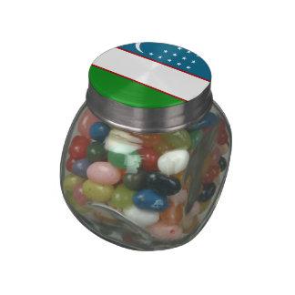 Uzbekistan Glass Jars