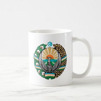 Uzbekistan Coat of Arms detail Mugs