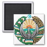 Uzbekistan Coat of Arms detail Refrigerator Magnet