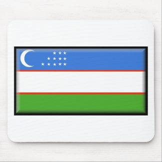 Uzbekistan Flag Mouse Pad