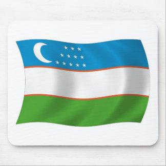 Uzbekistan Flag Mousepad