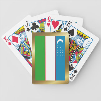 Uzbekistan Flag Playing Cards