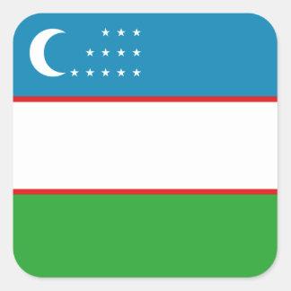 Uzbekistan Flag Sticker