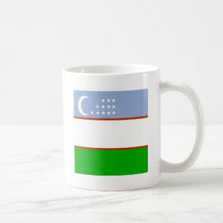 Uzbekistan High quality Flag Coffee Mugs