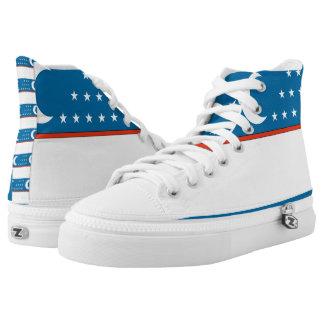 Uzbekistan High-Top Sneakers