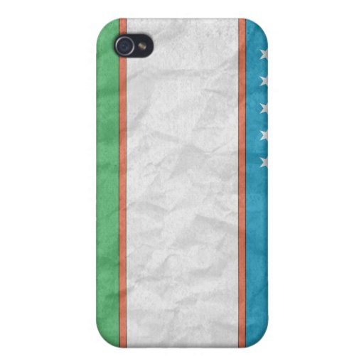 Uzbekistán iPhone 4/4S Fundas