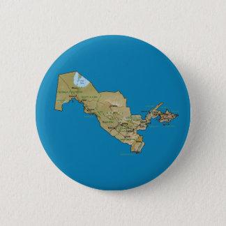 Uzbekistan Map Button