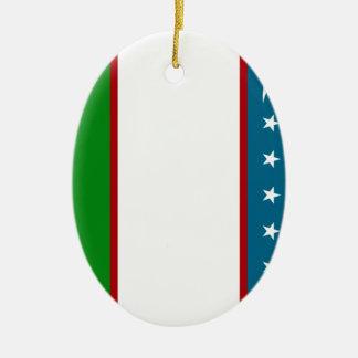 Uzbekistan Christmas Ornaments